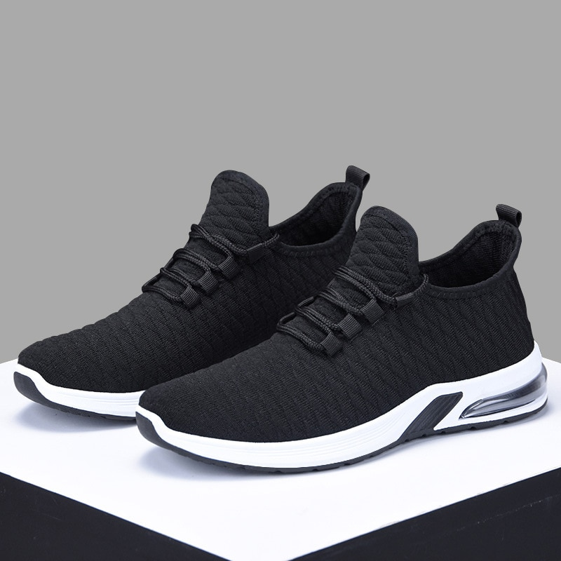 Shoes Men Casual Sneakers Mesh Breathable Air Cushion Shoes Couple Sneakers Male Footwear Outdoor Men Trainers Tenis Masculino