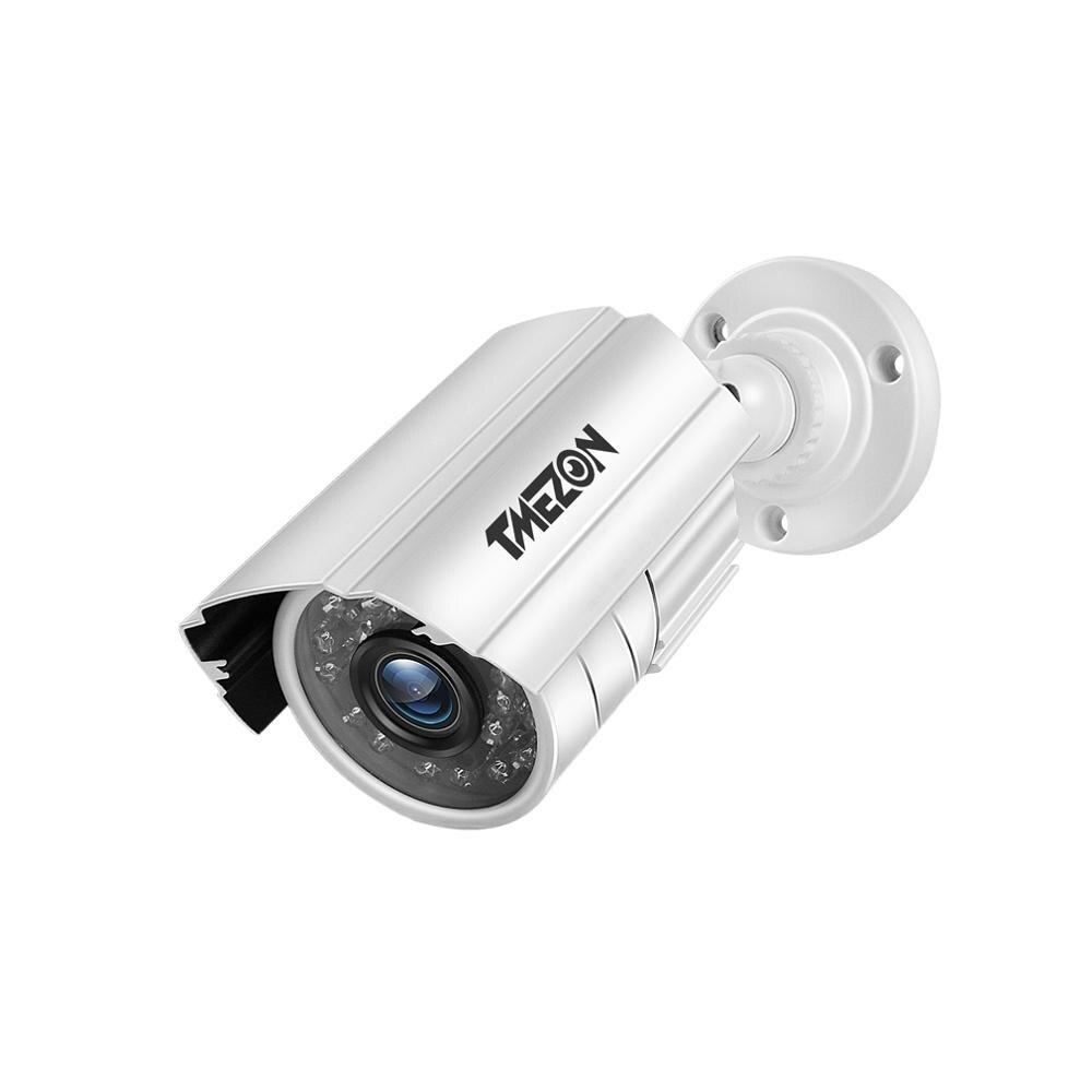 Tmezon 800TVL 900TVL 1200TVL cctvカメラデイ/ナイトビジョン防水監視セキュリティカメラ (ip 7 インチインターホン)