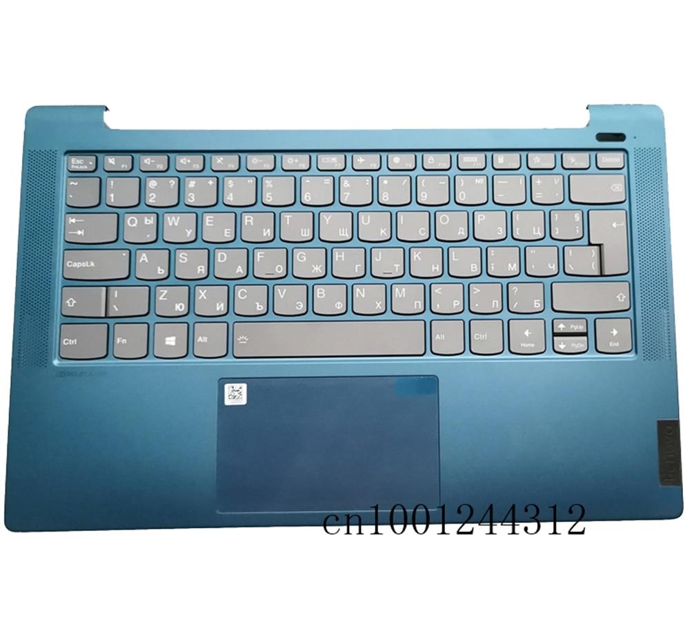 جديد 5CB1A13858 لينوفو ايديا باد 5-14ARE05 5-14ITL05 5-14IIL05 Palmrest لوحة المفاتيح الحافة لوحة اللمس الخلفية لا زر الطاقة