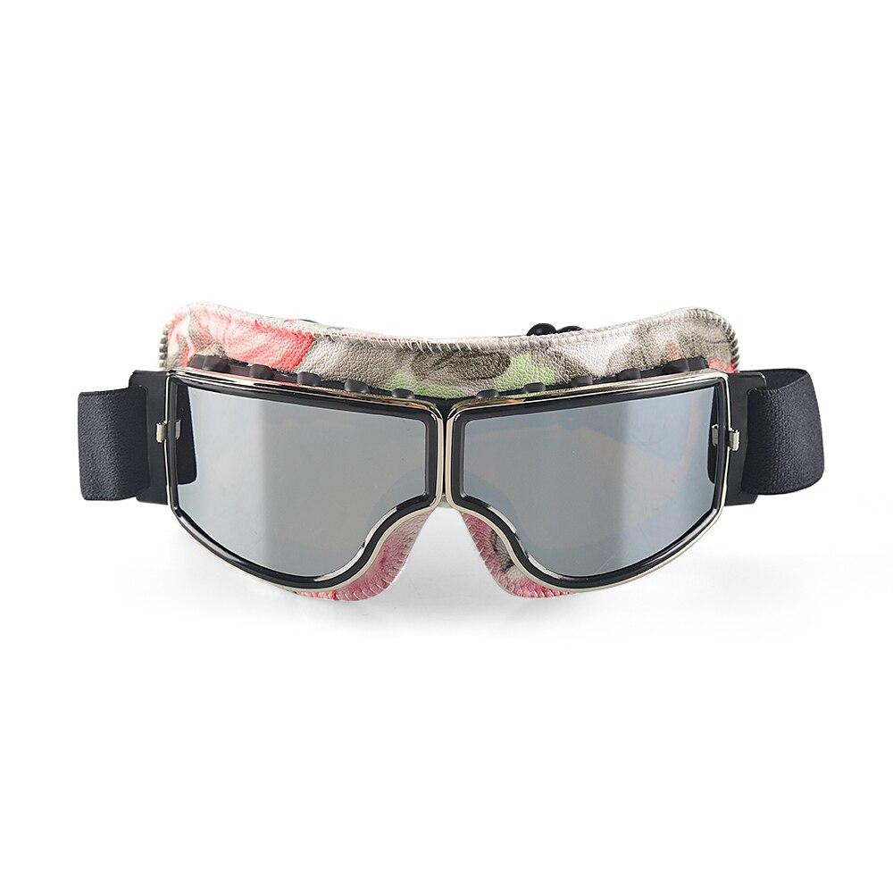 2019 جديد Vintage نظارات للدراجات النارية نظارات خوذة نظارات في الهواء الطلق ركوب السائق نظارات نظارات UV حماية جلدية ل هارلي