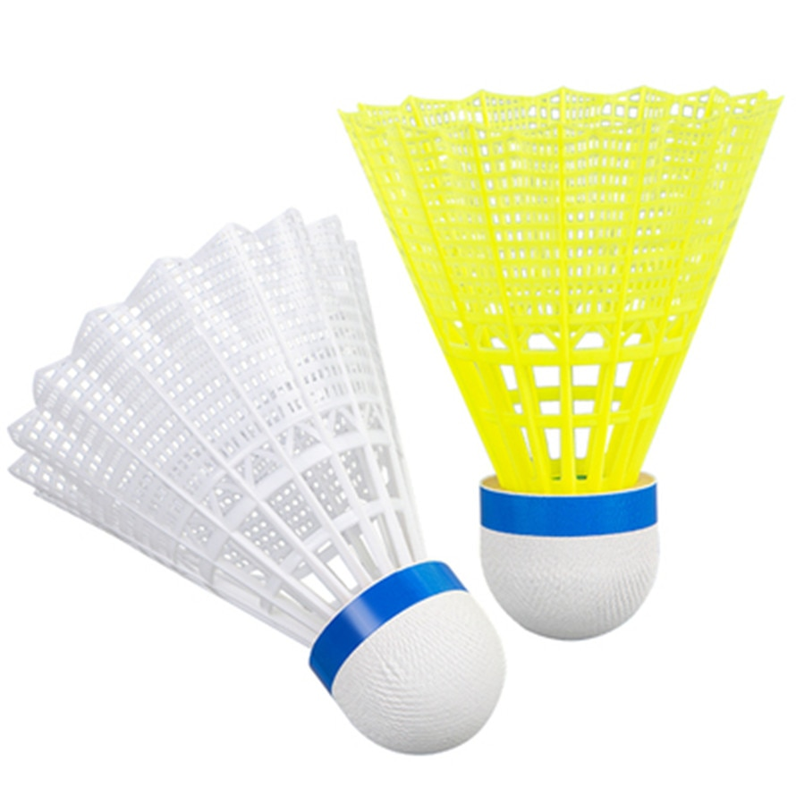 High quality Badminton Nylon Rubber Training Ball  Burable Windproof Balls 6PCS/Lot N6