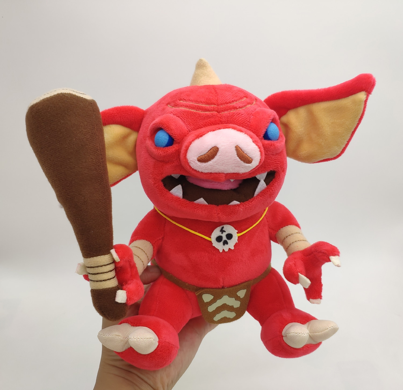 Leyenda Zelda Breath of the Wild Bokoblin cerdo de peluche de juguete muñeca regalo de figura