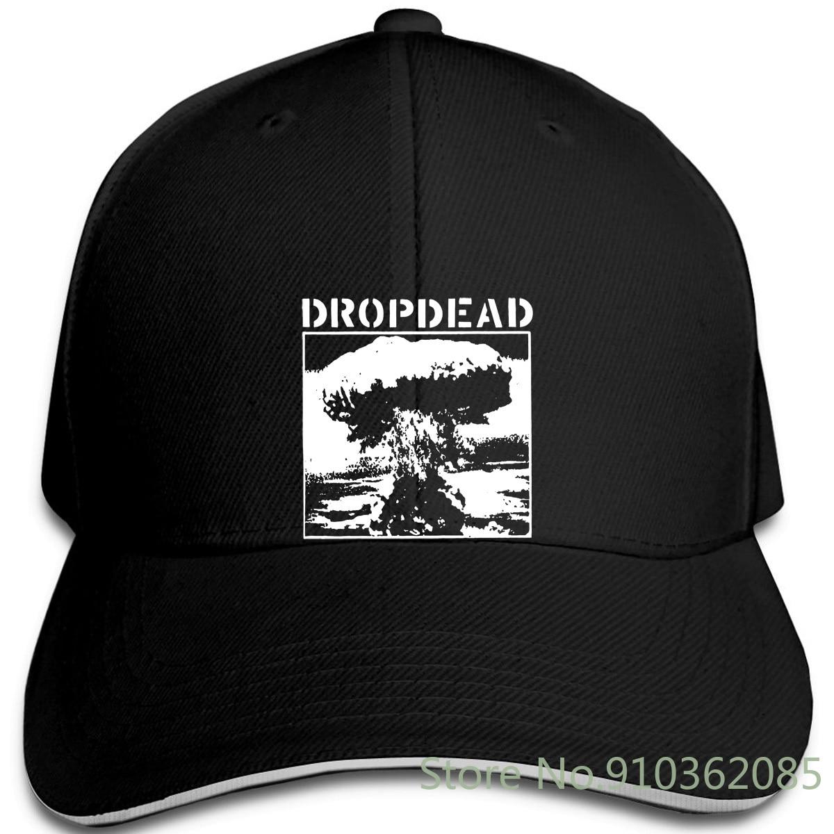 Dropdead V12 negro Hardcore Punk Grindcore todas las gorras ajustables gorra de béisbol hombres mujeres