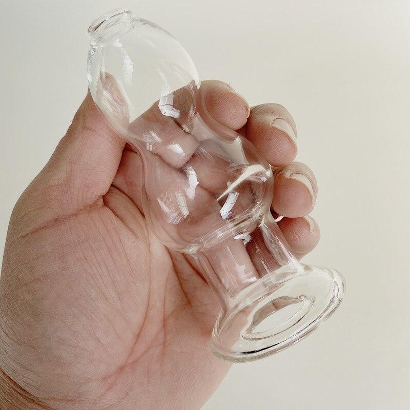 7 размеров прозрачная полая Анальная пробка с гладкой вставкой мастурбация Грудь Массаж точки G оргазм стимуляция анальный продукт для взро...
