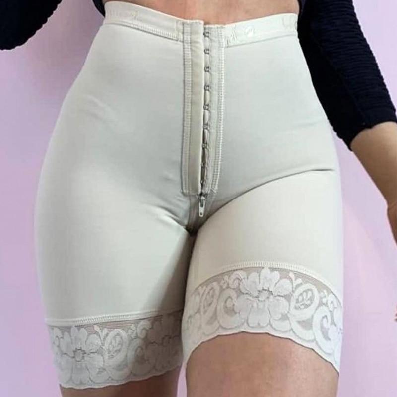 بعقب رافع ضغط الملابس الجبهة إغلاق البطن تحكم المرأة Pantaloons الدانتيل البطن السراويل