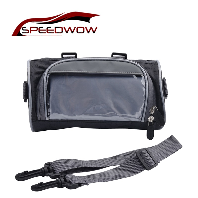 Motorcycle Front Handlebar Storage Bag Universal Waterproof Front Fork Pouch Electric Car Bicycle Handlebar Bag Capacity 2.5L bicycle front bag large capacity multi function front head bag folding bike electric car bag rainproof cover