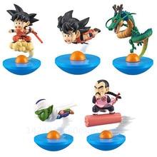 5 Pcs/set Dragon Ball Super Saiyan Shenron Piccolo Son Goku Vegeta Tao Pai Pai Frieza PVC Action Collectible Model Toy OPP G426