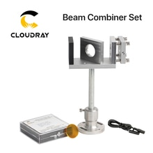 Combinaison de faisceau Cloudray 20/25mm ZnSe combinateur de faisceau Laser + monture + pointeur Laser pour Machine de découpe de gravure Laser CO2
