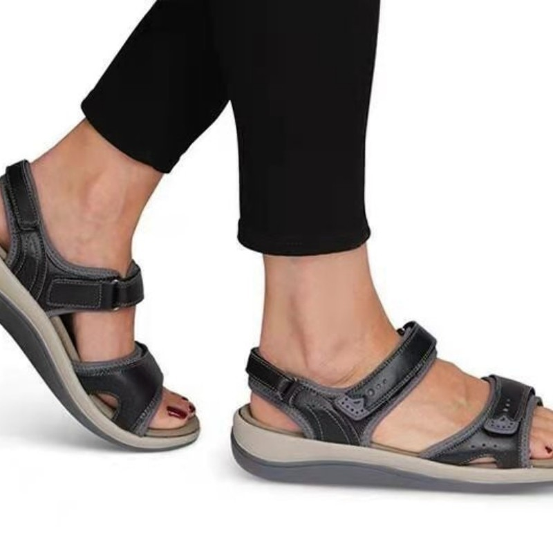 Women Summer Wedges Non-slip Beach Open Toe Breathable Sandals Sport Style Shoes zapatillas mujer Pl