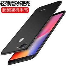 XOPOWO estuche mate para Xiaomi rojo mi nota 7 5 6 8 Pro mi 8 mi 9 A2 Lite 6X mi 9 SE 9t Pro 8 8A cubierta protectora Fundas