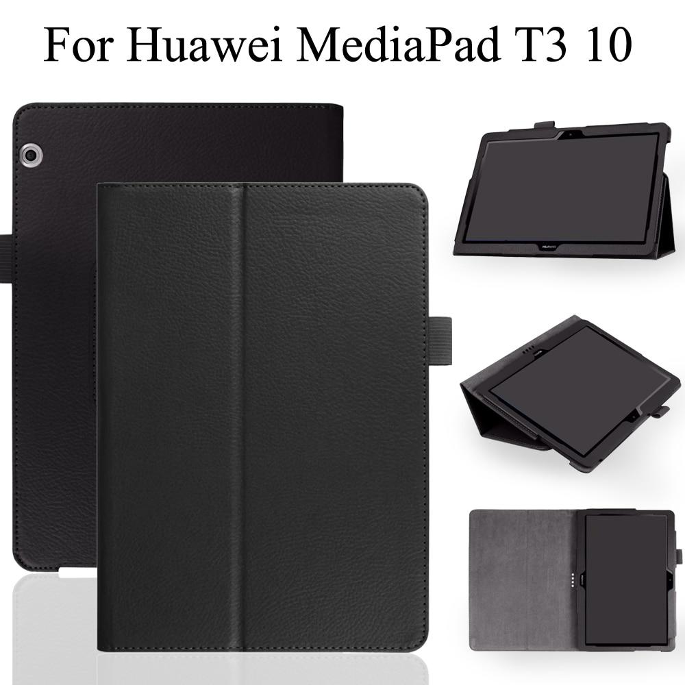 Смарт-чехол для Huawei MediaPad T3 10 AGS-L03 AGS-L09 9,6 дюймов планшет чехол