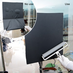 Image 3 - Роликовая резиновая виниловая скребок FOSHIO, 8 дюймов, для установки гладкой роликовой пленки из углеродного волокна, тинт для окон