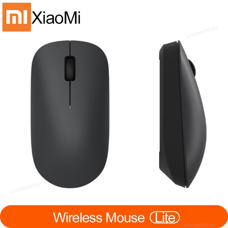Xiaomi Wireless Mouse Lite 2.4GHz 1000DPI Ergonomic Optical Portable Computer Mouse Easy to carry gaming Mouses