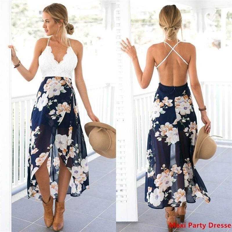 2020 maternity dress lace patchwork chiffon Beach pregnant women summer off shoulder princess black/white