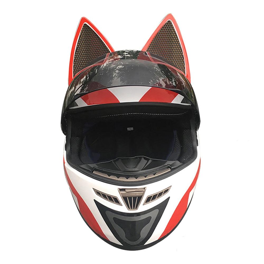 NITRINOS-خوذة دراجة نارية كاملة للنساء ، حماية للرأس والسباقات ، متوفرة في 24 لونًا