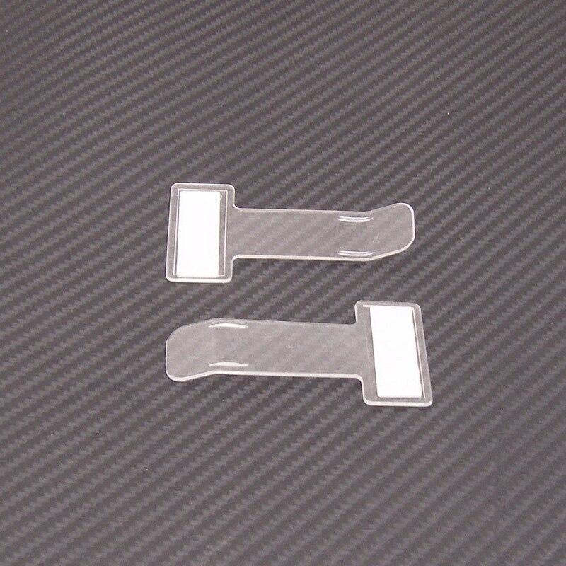 2 шт./набор пластиковый зажим для парковочных билетов прозрачный пластиковый держатель для парковочных билетов