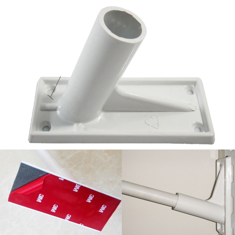 Soporte de poste de bandera de plástico para Pared Soporte de poste para bandera soporte de ASTA para banderas 21mm de diámetro Base de calcetín de viento