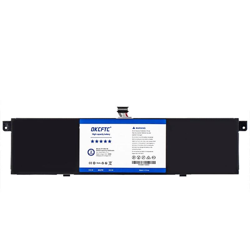"OKCFTC 6500mAh New R13B01W R13B02W Laptop Battery For Xiaomi Mi Air 13.3"" Series Tablet PC 39WH enlarge"