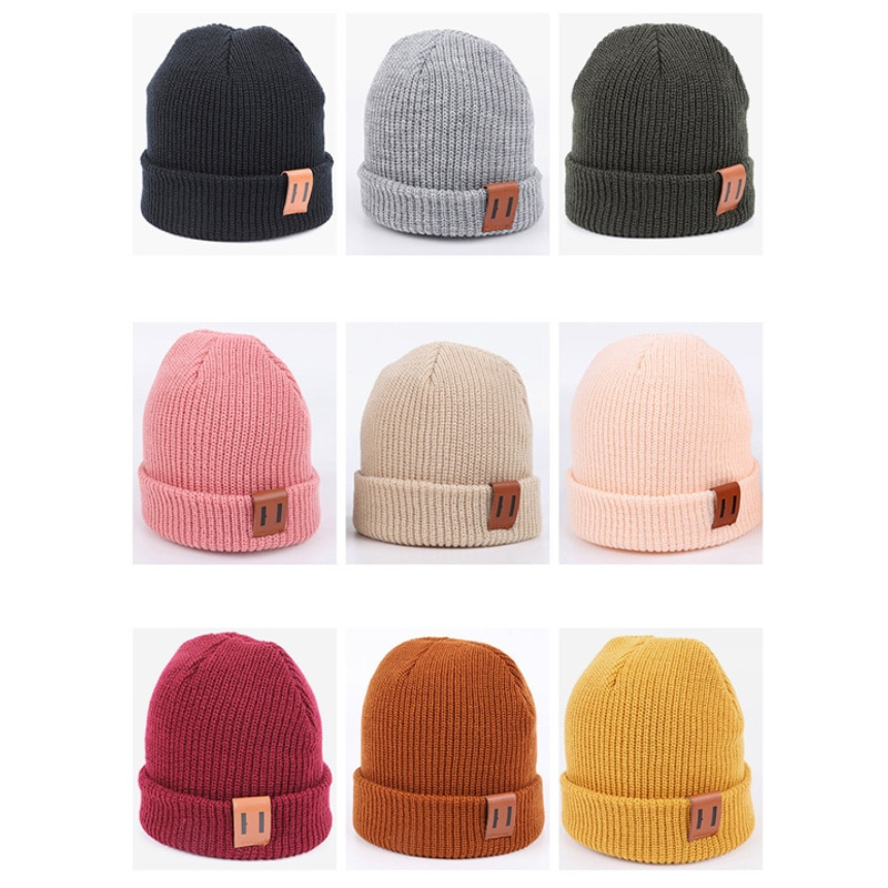 Baby Hat for Boy Warm Baby Winter Hat for Kids Beanie Knit Children Hats for Girls Boys Baby Cap New
