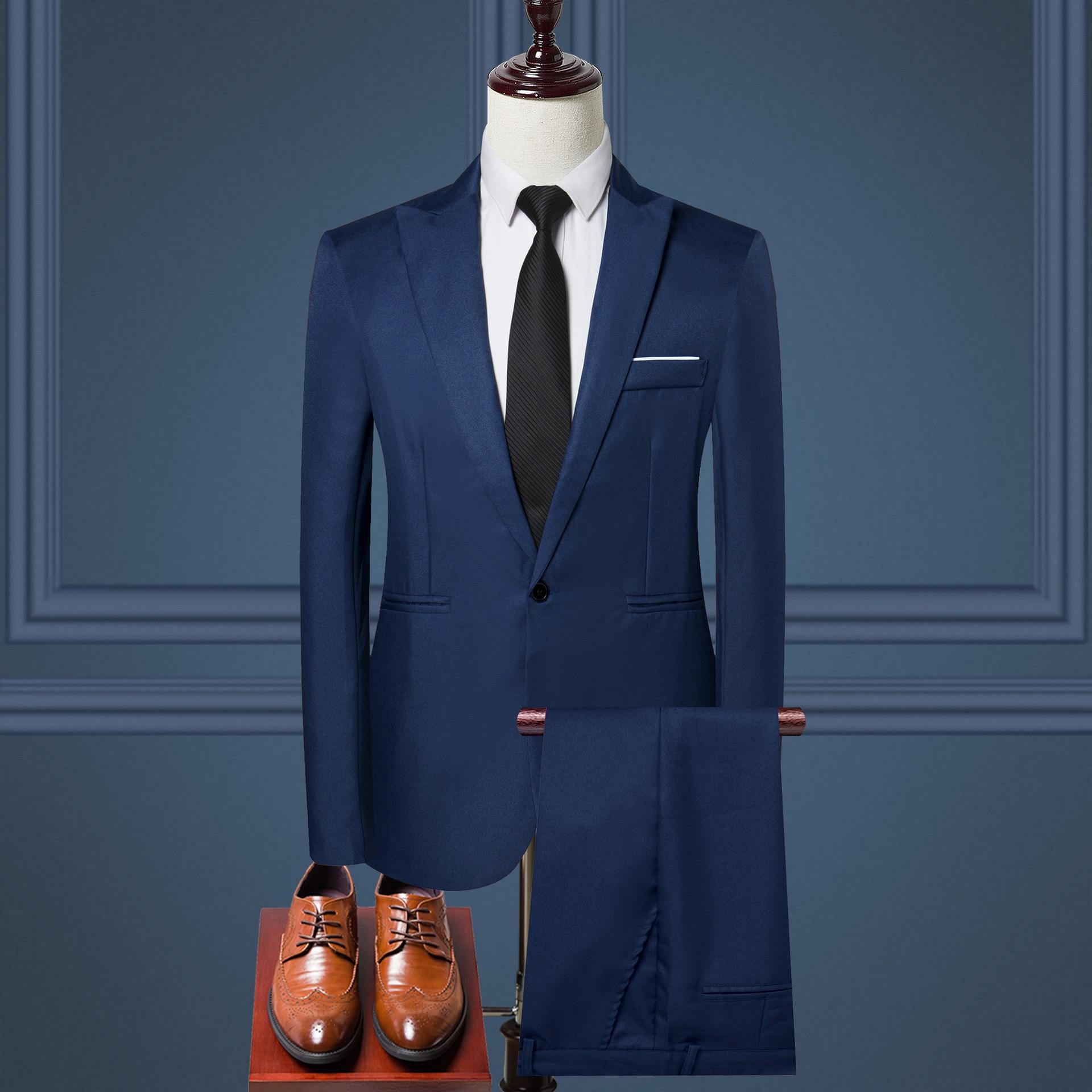 Модные деловые мужские костюмы, мужские молодежные модные костюмы..