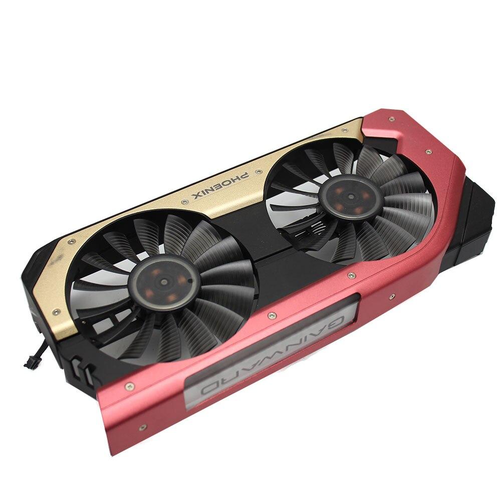 90MM Fan For GAINWARD Palit GeForce GTX 1060 Super JetStream GPU Cooler Gainward GeForce GTX1060 Graphics Cards as replacement
