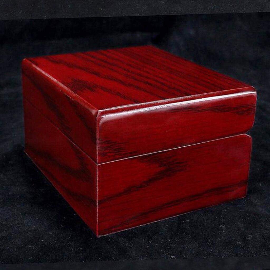Caixa de Exibição de Relógio Único para Relógio de Pulso Caixa de Armazenamento de Jóias Presente 10 Pçs