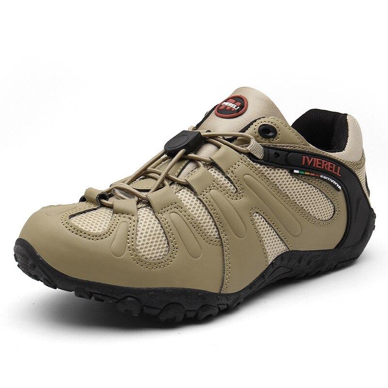 2020 nuevos zapatos de Trekking para hombres al aire libre, zapatos de senderismo, zapatillas de escalada de malla transpirable, zapatos tácticos de caza de bosque