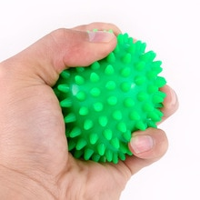 7CM 6 couleur Fitness PVC main Massage balle PVC semelles hérisson entraînement sensoriel saisir la balle balle de physiothérapie Portable