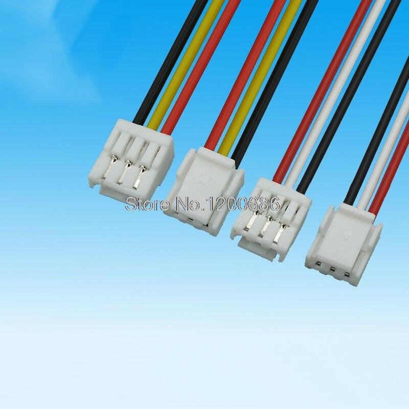 70 cm 10 conjuntos de gh série 1.25 fêmea 1.25 8pin GHR-08V-S fêmea duplo conector com cabo plano 700mm 1007 28 awg