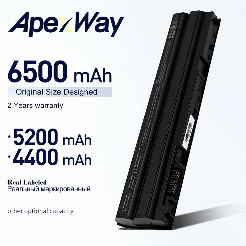 ApexWay Batteria per Dell Latitude E5420 E5430 E5520 E5520m E5530 E6120 E6420 E6420 E6430 E6520 E6530 per il Vostro 3460 3560