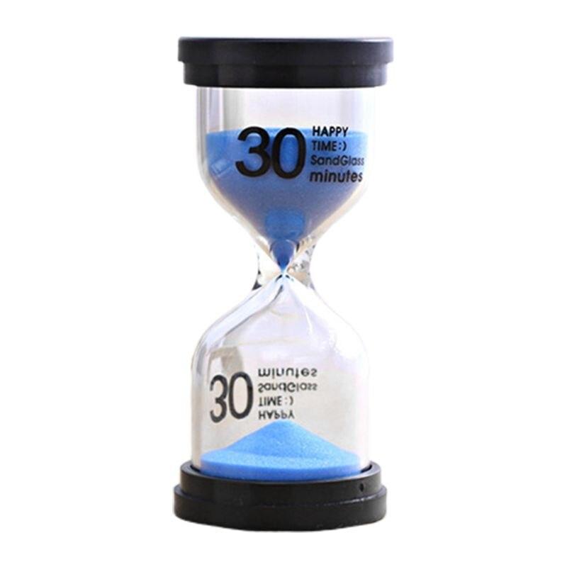 2020 nuevo reloj de arena creativo de oficina reloj de arena temporizador decoración del hogar cepillado sostenible