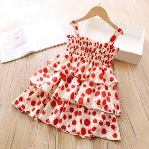 Dress 2021 Summer Dresses Kid Clothing Polka Dot Cake Dress Dresses For Girls Princess Dress Party Dress Evening Dresses