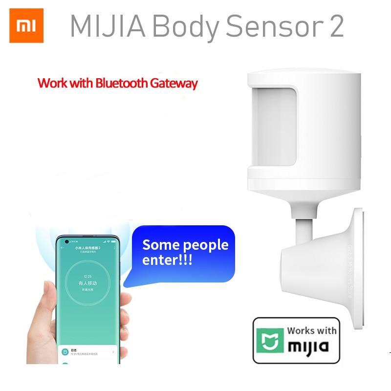 New Xiaomi Mijia Human Body Sensor 2 Via Android IOS Smart Body Movement Motion Sensor Bluetooth Connection For Smart Mi home