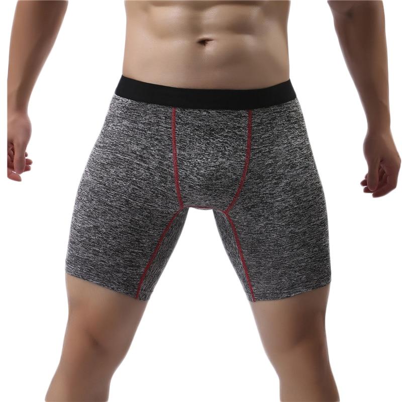 Длинные шорты-боксеры трусы, мужское нижнее белье, мужские трусы-боксеры, мужское нижнее белье, мужское нижнее белье, трусы, хлопок; Мягкая и ...