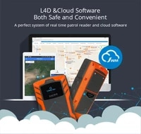 4g gprs real time web software voice call guard patrol reader with cloud softare wm 5000l4d