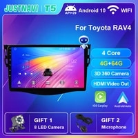 car radio android autoradio for toyota rav4 rav 4 2009 2012 carplay multimedia voice control player gps auto dsp no 2 din dvd 9