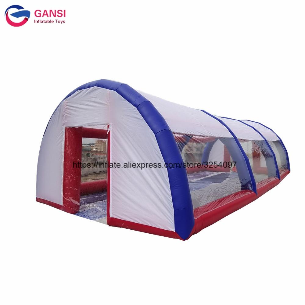 خيمة حفلات قابلة للنفخ للإعلانات الخارجية ، ملعب رياضي ، تنس ، قبة قابلة للنفخ ، مناسبة للحفلات