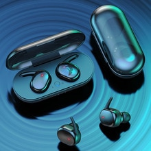 Y30 TWS Earphones 5.0 Headphones 4D Stereo Noise Cancelling Earbuds Wireless Bluetooth gaming headse