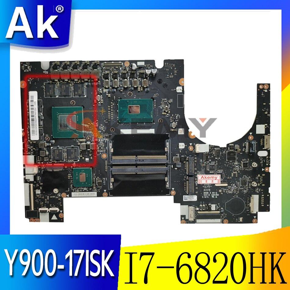 لينوفو Ideapad Y900-17ISK اللوحة الأم وحدة المعالجة المركزية: I7-6820HK وحدة معالجة الرسومات: N16E-GX-A1 ذاكرة الوصول العشوائي: 4G FRU 5B20L22106 5B20L22055 100% اختبار ok