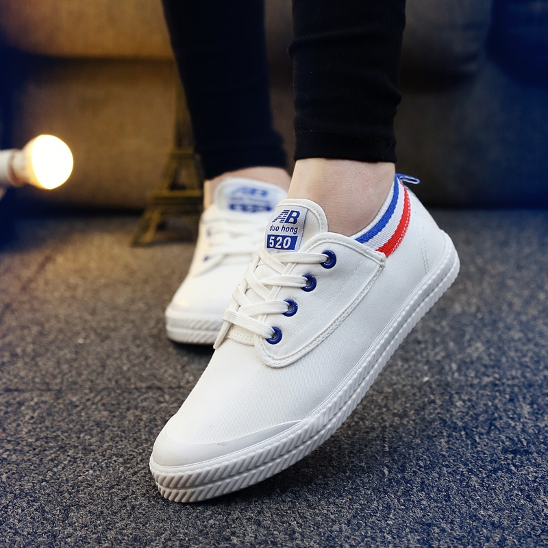 2021 New Women Casual Sneakers Soft White Sneakers,Breathable Sneakers,Espadrilles for Women Vulcani