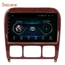Seicane 2GB Auto Multimedia-Player GPS 2Din Für 1998-2005 Mercedes Benz S Klasse W220 S280 S320 S350 s400 S430 S500 S600 S55 AMG