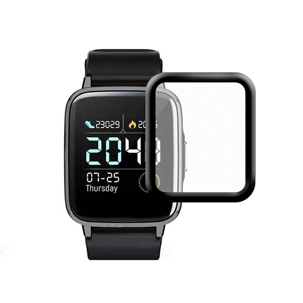 Pcs Para Xiaomi-haylou 25 #1 Ls01 3d Curvo Capa Protector Anti-impressão digital Protetor de Tela De Vidro Temperado acessórios de filmes