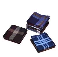 fort hope 12pcs 4040cm new 100cotton handkerchiefs men pocket hankies mens business square pockets handkerchief