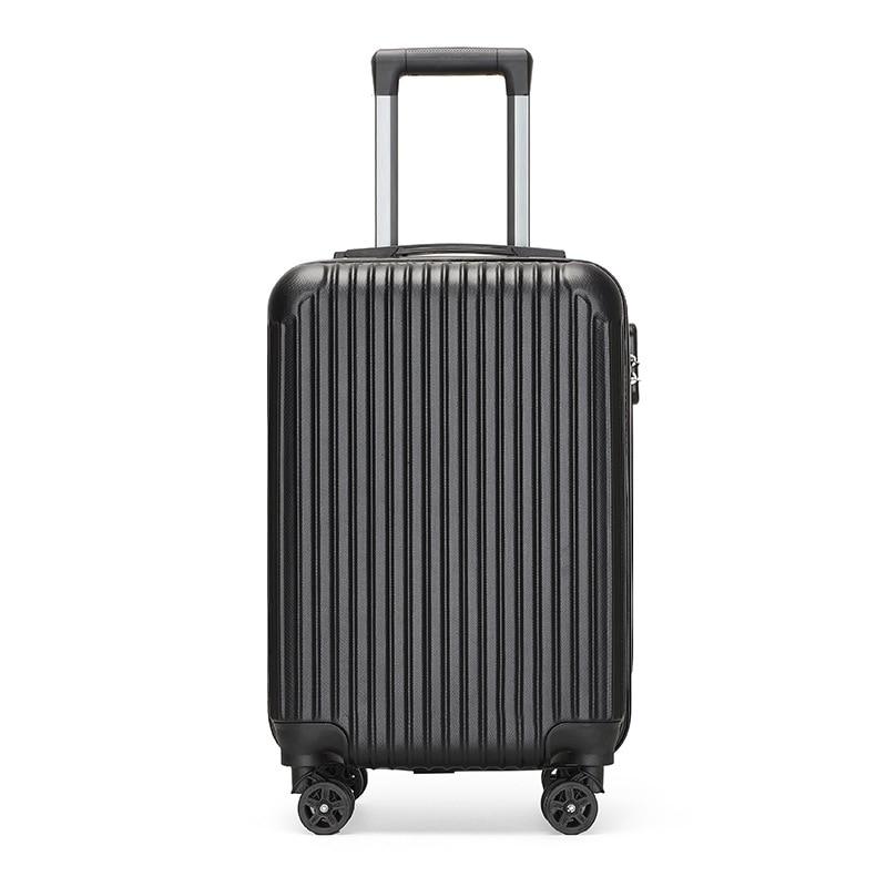 Дорожные чемоданы на колесиках для мужчин и женщин, универсальные чемоданы с кодовым роликом, 20 дюймов, вместительные