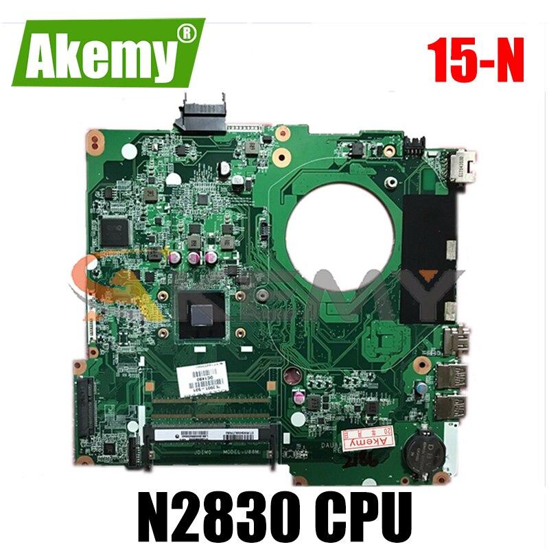 لوحة أم للكمبيوتر المحمول HP بافيليون 15-N N2830 موديل 794078-501 DAU88MMB6A0 SR1W4 DDR3 لوحة أم كاملة اختبار 100%