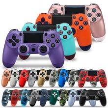 Drahtlose Verdrahtete Bluetooth PS4 Controller Doppel Shock Joystick PC für Konsole Controller Gamepad Mando Manette PS 4 auf PC