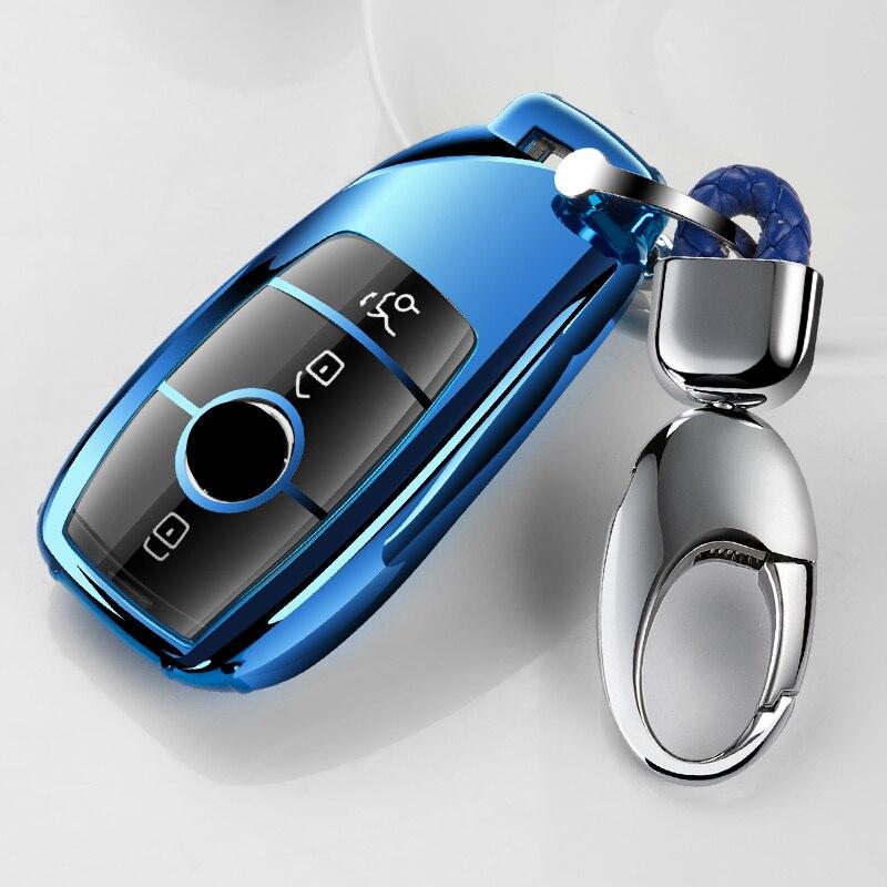 2019 nueva funda de llaves impermeable TPU suave de alta calidad para mercedes-benz 2017 Clase E W213 2018 S accesorios de clase
