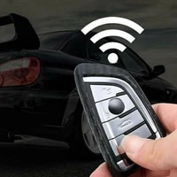 1x carbon style tpu key chian fob high quality cover case for bmw x1 x5 x6 5 series 7 series useful car accessories