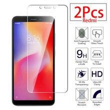 2 pz/lotto Per Xiaomi redmi 6A 6A 6 un vetro di protezione Dello Schermo In Vetro Temperato Protector redmi redmi 6a redmi 6 un rosso mi6a glas pellicola