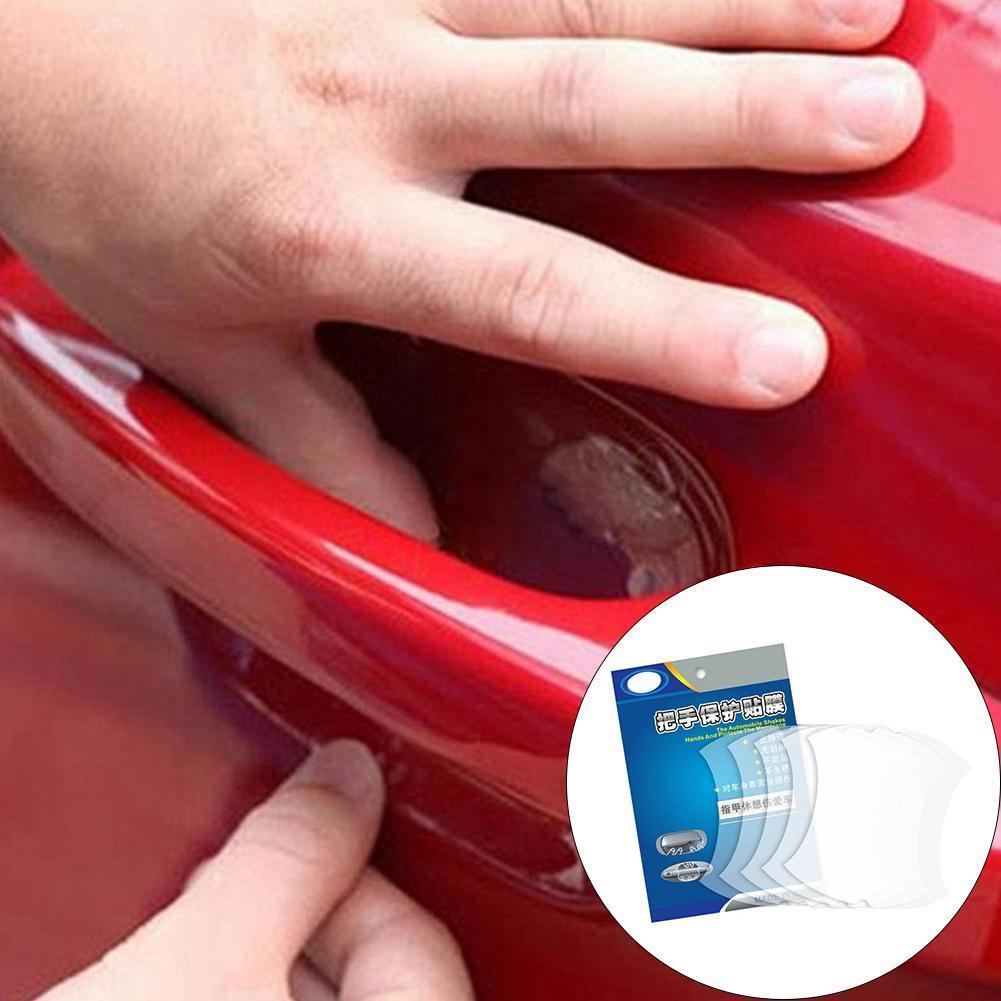 2 boxen 10PCS Universal-Invisible Auto Tür Griff Shakes Protector Filme Protector Vinyl V4E5